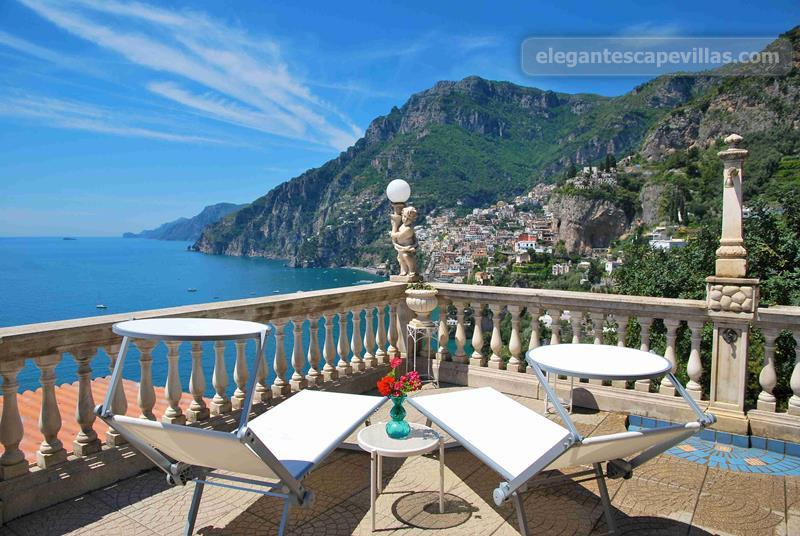 Holiday In Villa Positano With Swimming Pool Amalfi Coast